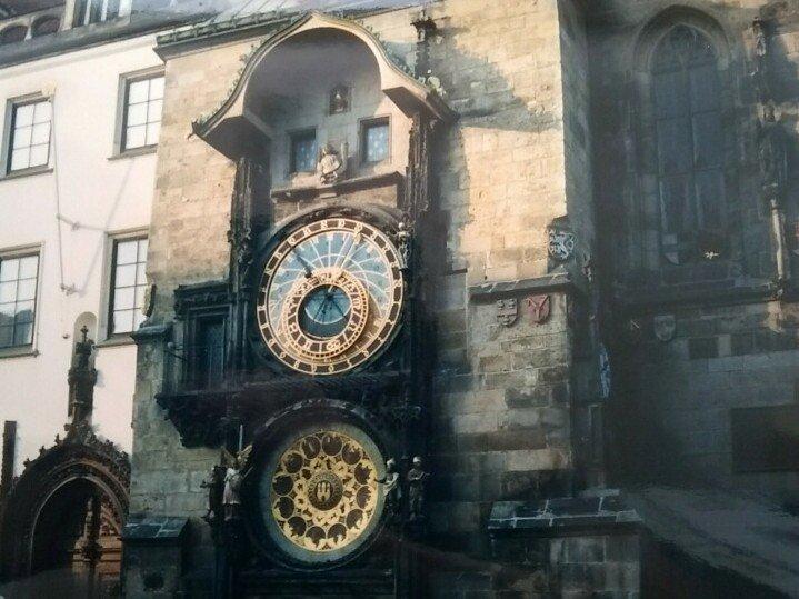 shows a photo of historic Prague