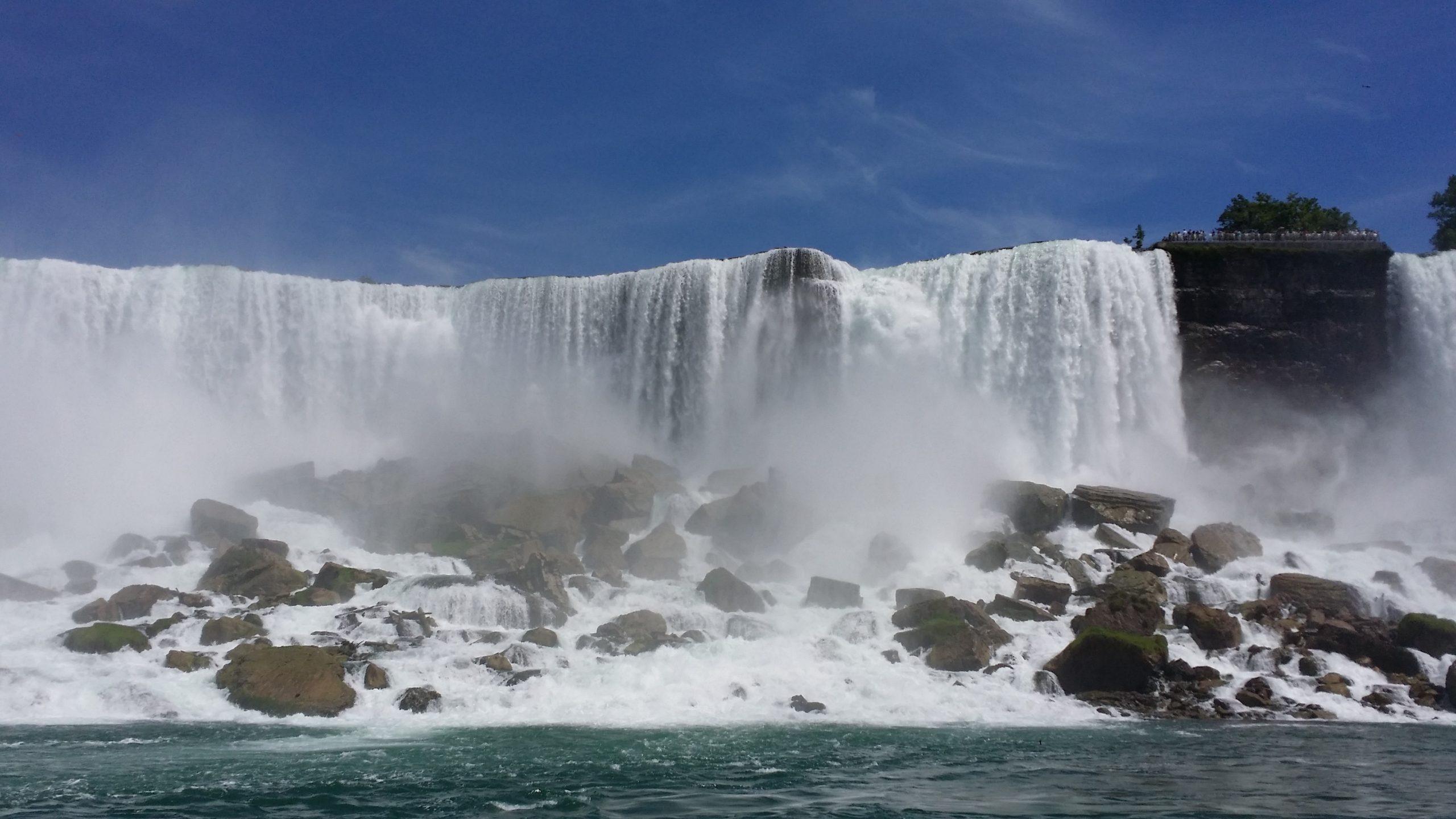 Niagara Falls during the day
